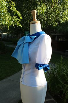 Sailor Scouts Casual Lolita Inspire Blouse: Make to Order. $20.00, via Etsy.