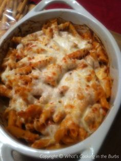 Baked Penne with Sun Dried Tomato Pesto