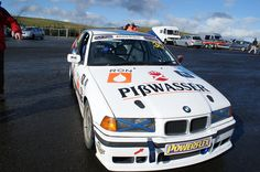 Grand theft auto race car at knockhill