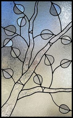 clear-textured-aspen-tree-stained-glass