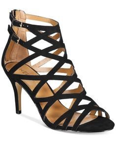 e90b0e4b43d1f Report Kareena Caged Dress Sandals Shoes - Sandals   Flip Flops - Macy s