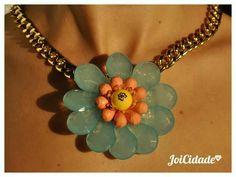 Single blue flower