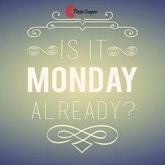 Wow its #Monday!!