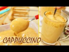 Discover recipes, home ideas, style inspiration and other ideas to try. Cappuccino Recipe, Iced Cappuccino, Cappuccino Machine, Italian Coffee, Brunch Recipes, Food And Drink, Pudding, Starbucks, Homemade