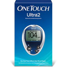 The One Touch Blood Glucose System is a fast, gentle, and simple way to see the effects of food on your blood sugar levels. The One Touch Ultra 2 Meter needs only 1 micro liter of blood. Types Of Diabetes, Blood Glucose Monitor, Glucose Test, What Causes Diabetes, Diabetes Supplies, Diabetes In Children, Regulate Blood Sugar, Booklet Design, Natural Treatments