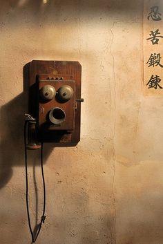 Oooooh!  Funny telephone face!