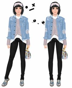 layers and layers and layers .... #stardoll #look #outfit