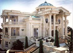 """Luxury Homes Interior Dream Houses Exterior Most Expensive Mansions Plans Modern 👉 Get Your FREE Guide """"The Best Ways To Make Money Online"""" Classic House Design, Dream Home Design, Dream Mansion, Luxury Homes Dream Houses, Dream Homes, Mansion Interior, Modern Mansion, Mansions Homes, Dream House Exterior"""