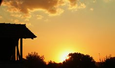 Village sunset, Bulgaria (A. Carman)