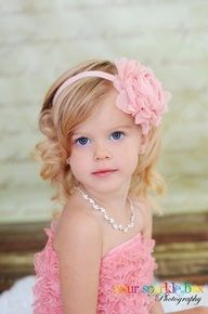 Weddings | Filles et Garcons - Adorable...  #flowergirl #weddings #kids #hairstyle