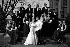 Waveny House Wedding: Tracy & Andy - Justin & Mary - Photography