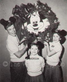 With Jimmie and Bonni in a holiday season promotional photo