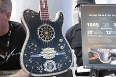 50 of the most outrageous, beautiful and downright expensive guitars of NAMM…
