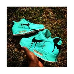 new product 4aec6 b2359 Acheter Chaussures Sport Nike Air Max 90 Candy Drip Customs Bright Cyan  France Boutique