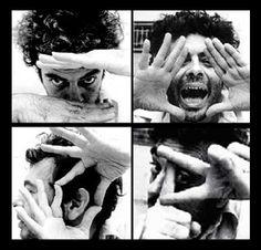 Glauber Rocha (1939-1981), cineasta.  Mais em: http://www.punkbrega.com.br/category/anti-herois/