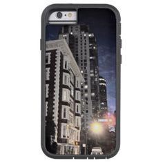 Coque Tough Xtreme iPhone 6 Protecteur de cellulaire, photo de ville la nuit