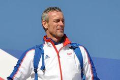 Mark Foster in Tri Team Mark Foster, Triathlon, The Fosters, Rain Jacket, Windbreaker, Athletic, Sports, Hs Sports, Triathalon