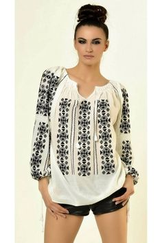Bohemian Mode, Hippie Chic, Embroidered Clothes, Embroidered Blouse, Folk Fashion, Womens Fashion, Cool Outfits, Casual Outfits, Embroidery Fashion