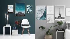 6 handfasta tips – så lyckas du med din postervägg Printable Art, Sweet Home, Gallery Wall, Prints, Inspiration, Design, Home Decor, Decorations, Tips