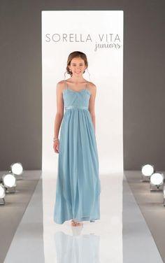 64b3838b3 8472 Convertible Bridesmaid Dress by Sorella Vita Junior Bridesmaids, Junior  Bride Dresses, Sorella Vita