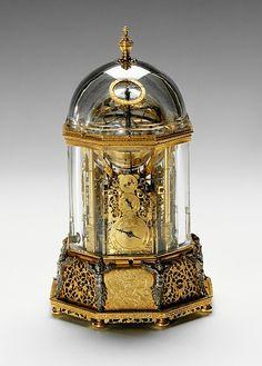 Jobsu Burgi : Rock Crystal Clock, 1622-23 | The Kunst- und Wunderkammer of Emperor Rudolf II | Die Welt der Habsburger