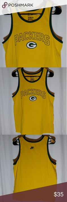 8d633a5a92d26c 🔴Green Bay Packers Nike Tank Top Excellent used condition Normal wear and  tear 100%