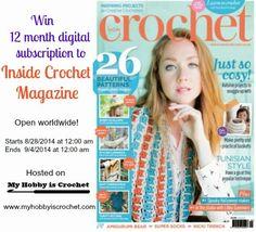 Crochet Magazine Subscription : ... Crochet Events on Pinterest Crochet magazine, Stricken and Crochet