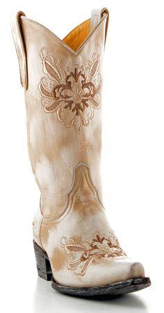 Womens Yippee Ki Yay Sabrina Boots Bone #Yl024-6