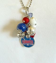 New York Giants Football Team Changeable Cluster by The Jewelry Jar, 11.00