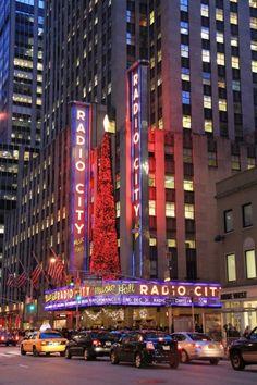famous annual Christmas Spec     New York City landmark, Radio City Music Hall in Rockefeller Center is home of the Rockettes and famous annual Christmas Spectacular.