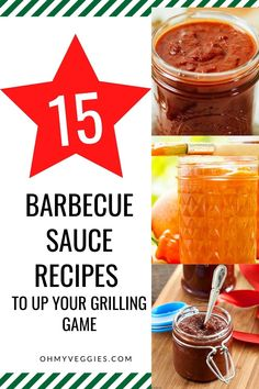 There really isn't much better than homemade condiments. Here are 15 delicious homemade barbecue sauce recipes! Each one has its own unique flavor that will go perfectly with all your grilling and saucing needs. Homemade Barbecue Sauce, Barbecue Sauce Recipes, Most Delicious Recipe, Vegetarian Cooking, Holiday Recipes, Grilling, Yummy Food, Meals, Unique