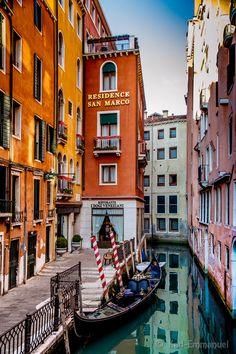 Behind San Marco, Venice,
