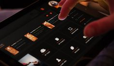 Platform UI - Mobile App Design by Jonathan Kelley, via Behance