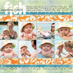 Card of the Week.com | Cards, Scrapbooking, and Papercrafts: Scrapbook Page of the Week