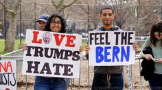 Bernie Sanders launched his quest to capture the hearts of New Yorkers in The Bronx today. An estimated 18,500 people showed up to St Mary's Park in the South Bronx to show support for the ca…