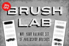 Graphic Design - Graphic Design Ideas  - Brush Lab – Photoshop Brushes by Sivioco on Creative Market   Graphic Design Ideas :     – Picture :     – Description  Brush Lab – Photoshop Brushes by Sivioco on Creative Market  -Read More –