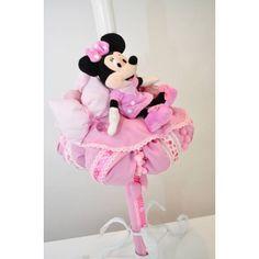 Lumanare Minnie Mouse #kidsplaza #botez Minnie Mouse, Disney Characters