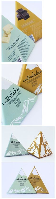 student gabriela nisizaki has designed the perfect packaging for interlaken chocolate