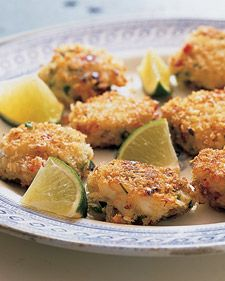 Finger food at it's finest- mini asian crab cakes