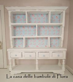 Large kitchen dresser - 1/12 dolls house dollhouse miniature