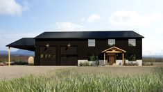 The Melrose - Back Forty Building Co. Metal Building House Plans, Steel Building Homes, Pole Barn House Plans, Garage House Plans, Pole Barn Homes, Shop House Plans, Dream House Plans, Metal Homes Plans, Pole Building House