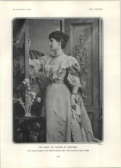 Lady Violet Hermione Graham 5th Duchess of Montrose:   She was styled as Duchess of Montrose on 24 July 1876. She was invested as a Dame of Grace, Order of St. John of Jerusalem (D.G.St.J.). She was awarded the honorary degree of Doctor of Law (LL.D.). She was invested as a Knight Grand Cross, Order of the British Empire (G.B.E.).
