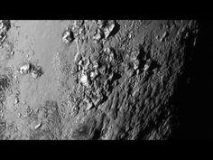 De la glace sur Pluton