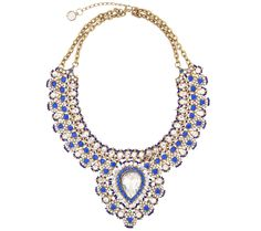 I have no where to wear this..Just liked the imperial #russia look of it    Send the Trend Katherine Teardrop Bib Necklace