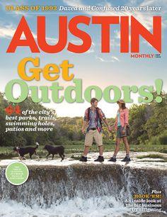 Austin Monthly September 2013: Get Outdoors, Austin!