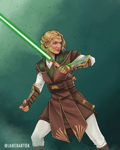 Star Wars Characters Pictures, Star Wars Pictures, Female Characters, Jedi Cosplay, Jedi Costume, Star Wars Concept Art, Star Wars Fan Art, Star Wars Rpg, Star Wars Jedi