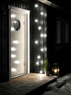 Belysning som lyser upp i vintermörkret