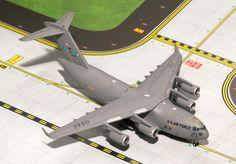 "1/400 GeminiJets USAF ""Dover AFB"" C-17 Globemaster Diecast Model"