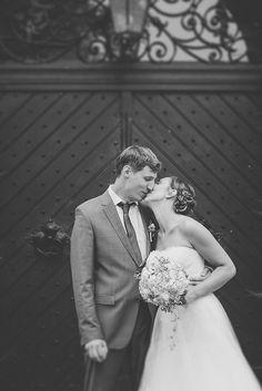 #couple #love #wedding #bride #kiss