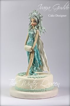 """The Winter Queen"" https://www.facebook.com/Torte-di-Ivana-Guddo-317176505051760/?ref=hl"